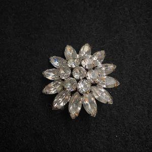 Weiss Vintage rhinestone pin